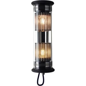 In The Tube 100-350 Outdoor wall light - L 37 cm by DCW éditions Metal