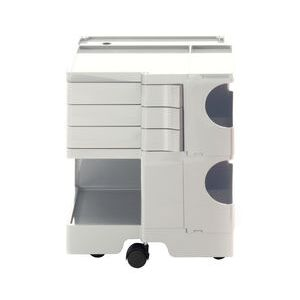 Boby Trolley - H 52 cm - 3 drawers by B-LINE White