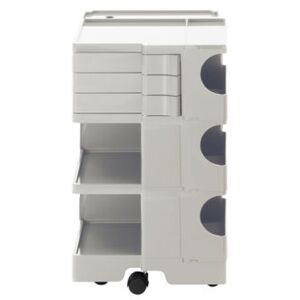 Boby Trolley - H 73 cm - 3 drawers by B-LINE White