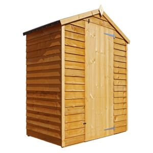 Mercia 5x3ft Overlap Apex Windowless Wooden Shed