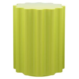 Colonna Stool - H 46 x Ø 34,5 cm - By Ettore Sottsass by Kartell Green