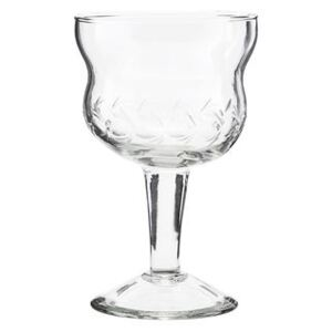 Vintage Wine glass by House Doctor Transparent
