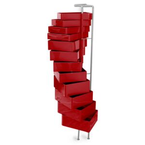 Spinny Wall storage by B-LINE Red
