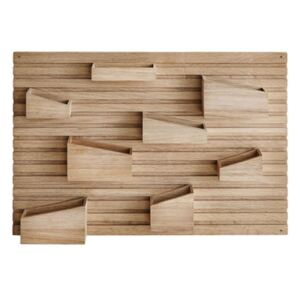 Input Wall storage - 66 x 44 cm - Oak by Woud Natural wood