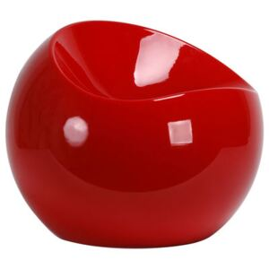 Ball Chair Pouf by XL Boom Red