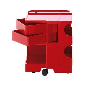 Boby Trolley - H 52 cm - 2 drawers by B-LINE Red