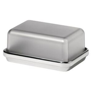 ES03G Butter dish - / Steel & plastic by Alessi Metal