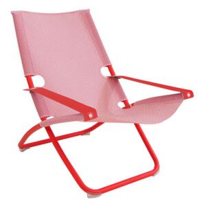 Snooze Reclining chair - Foldable / 2 positions by Emu Red