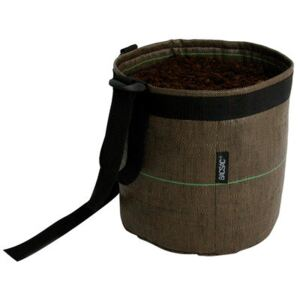Accroché Geotextile Hanging pot - 10 L - Outdoor by Bacsac Brown