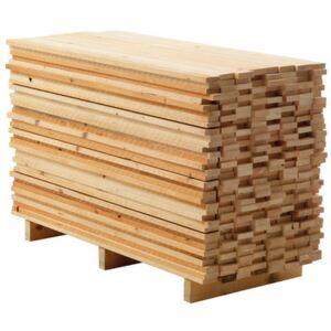 Ordinaryday (in a wooden factory) Chest of drawers - / 4 drawers - L 135 cm by Mogg Natural wood