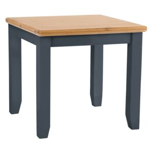 Gloucester Midnight Grey Painted Flip-Top Dining Table