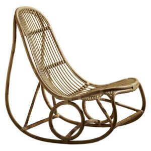 Nanny Rocking chair - Reissue 1969 by Sika Design Brown/Beige