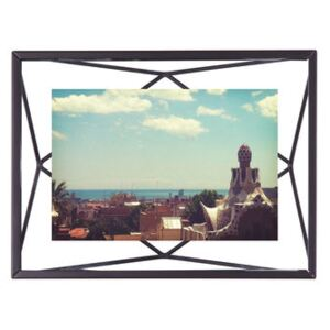 Prisma Photo frame - / Photo 10 x 15 cm - to stand up or hang by Umbra Black