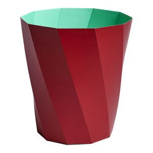 Paper Paper Wastepaper basket - / 100% recycled paper - Ø 28 x H 30.5 cm by Hay Red
