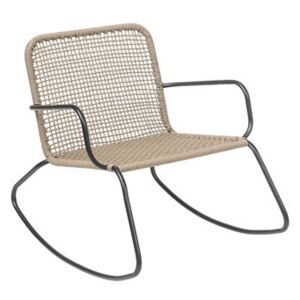Nature Rocking chair - / Indoors & outdoors by Bloomingville Beige