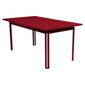 Costa Extending table - With extension by Fermob Red