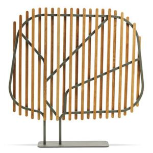 Clostra Folding screen - / L 145 x H 145 cm by Ethimo Natural wood