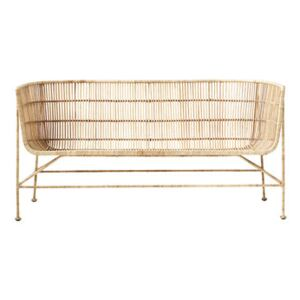 Cuun 2 seater sofa - / 2 seats - L 140 cm by House Doctor Natural wood