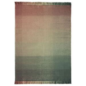 Shade palette 3 Outdoor rug - / 200 x 300 cm by Nanimarquina Pink/Green