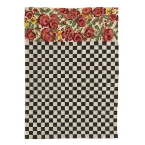 Oaxaca Outdoor rug - / Hand-woven - 170 x 240 cm by Nanimarquina White/Black