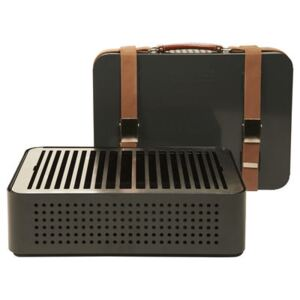 Mon Oncle Movable charcoal barbecue by RS BARCELONA Grey