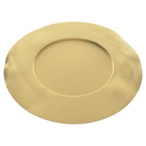 Sitges Placemat - / Brass - Ø 33 cm by Alessi Gold
