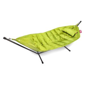 Headdemock Deluxe Hammock - with cushion and protection case by Fatboy Green