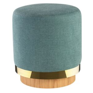 Pouf - / Fabric by RED Edition Blue