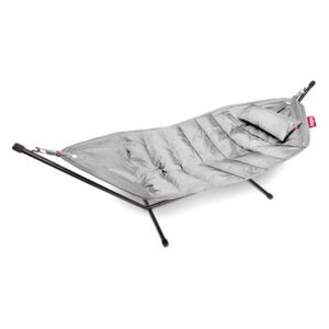 Headdemock Deluxe Hammock - with cushion and protection case by Fatboy Grey