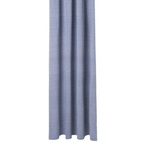 Chambray Blue Shower curtain - / 160 x H 205 cm - Coated cotton by Ferm Living Blue