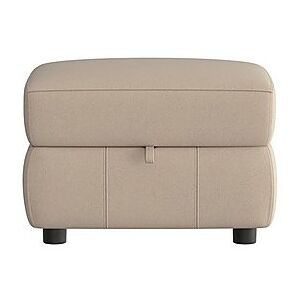 Relax Station Revive Fabric Storage Footstool - Beige