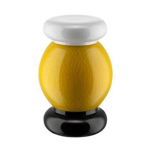 / By Ettore Sottsass - H 11 cm Spice mill - / Alessi 100 Values Collection by Alessi Yellow
