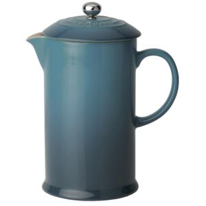 Le Creuset Stoneware Cafetiere With Metal Press Deep Teal