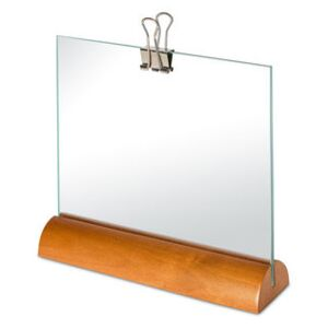 Photo holder - / Alessi 100 Values Collection by Alessi Natural wood