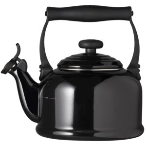 Le Creuset Traditional Fixed Whistle Kettle Black