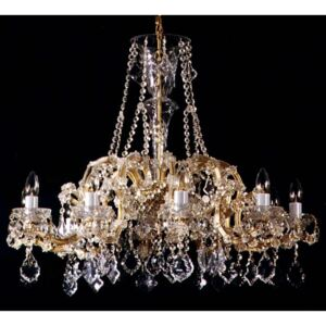 10 flames Maria Theresa crystal chandelier with Pendeloques
