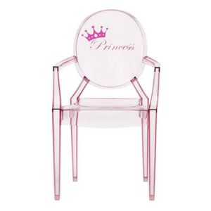 Lou Lou Ghost Children armchair - / Patterns by Kartell Pink