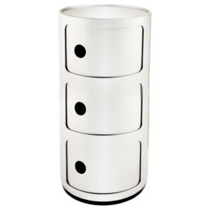 Componibili Storage - 3 elements by Kartell White