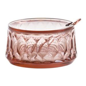 Jellies Family Sugar bowl - / With spoon by Kartell Pink