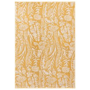 Country Floral Rug - Ochre - 120x170cm