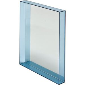 Only me Wall mirror by Kartell Blue