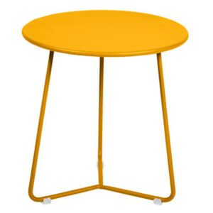 Cocotte End table - / Stool - Ø 34 x H 36 cm by Fermob Yellow