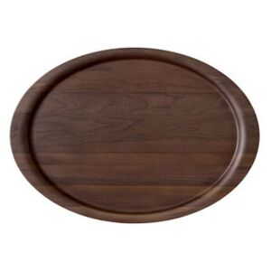Collect SC65 Tray - / 54 x 38 cm - Solid walnut by &tradition Natural wood