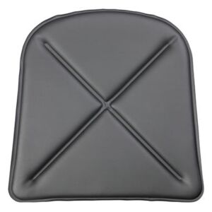 Seat cushion - Synthetic leather - For A chair & A56 armchair by Tolix Black