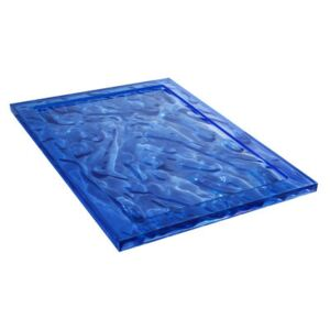 Dune Large Tray - 55 x 38 cm by Kartell Blue