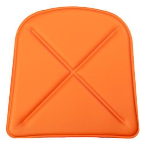 Seat cushion - Synthetic leather - For A chair & A56 armchair by Tolix Orange