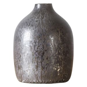 Renee Vase in Antique Silver, Small