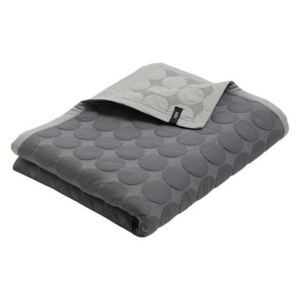 Mega Dot Plaid - / Quilted - 245 x 195 cm by Hay Grey