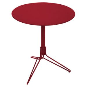 Flower Round table by Fermob Red