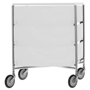 Mobil Mobile container - With 3 drawers by Kartell White